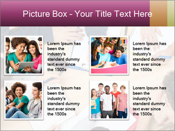 Students Make Notes PowerPoint Template - Slide 14