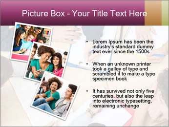 Students Make Notes PowerPoint Template - Slide 17
