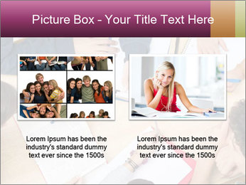 Students Make Notes PowerPoint Template - Slide 18