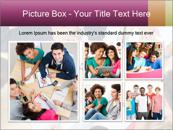 Students Make Notes PowerPoint Template - Slide 19