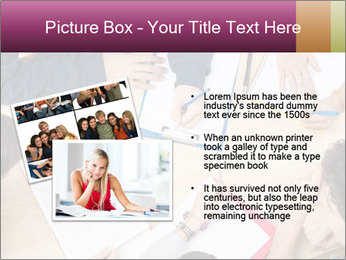 Students Make Notes PowerPoint Template - Slide 20