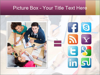 Students Make Notes PowerPoint Template - Slide 21
