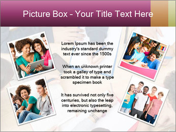 Students Make Notes PowerPoint Template - Slide 24
