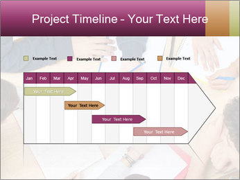 Students Make Notes PowerPoint Template - Slide 25