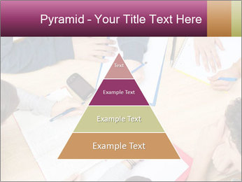 Students Make Notes PowerPoint Template - Slide 30