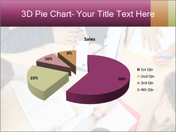 Students Make Notes PowerPoint Template - Slide 35