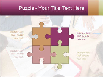 Students Make Notes PowerPoint Template - Slide 43
