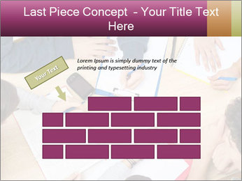Students Make Notes PowerPoint Template - Slide 46