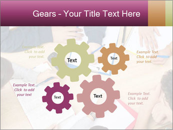 Students Make Notes PowerPoint Template - Slide 47