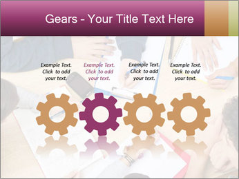 Students Make Notes PowerPoint Template - Slide 48