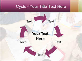 Students Make Notes PowerPoint Template - Slide 62