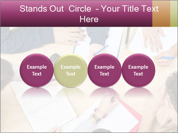 Students Make Notes PowerPoint Template - Slide 76