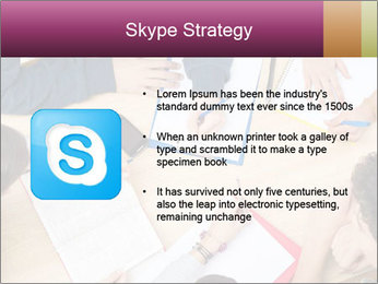 Students Make Notes PowerPoint Template - Slide 8