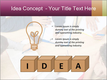 Students Make Notes PowerPoint Template - Slide 80