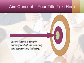 Students Make Notes PowerPoint Template - Slide 83