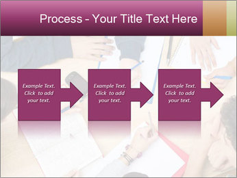 Students Make Notes PowerPoint Template - Slide 88
