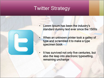 Students Make Notes PowerPoint Template - Slide 9