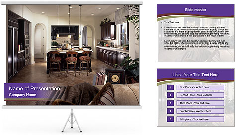 Luxury Interior PowerPoint Template