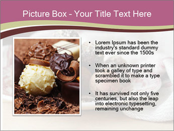 Plate With Truffles PowerPoint Template - Slide 13