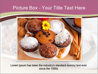 Plate With Truffles PowerPoint Template - Slide 16