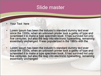Plate With Truffles PowerPoint Template - Slide 2
