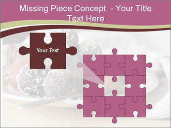 Plate With Truffles PowerPoint Template - Slide 45