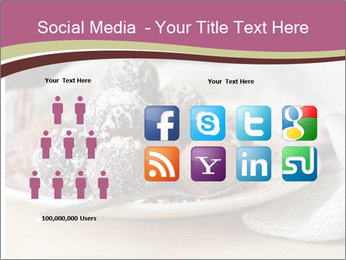 Plate With Truffles PowerPoint Template - Slide 5