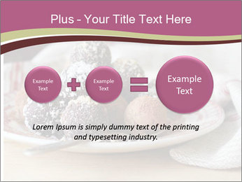 Plate With Truffles PowerPoint Template - Slide 75