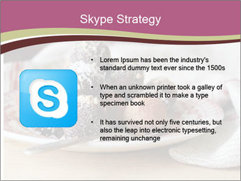 Plate With Truffles PowerPoint Template - Slide 8