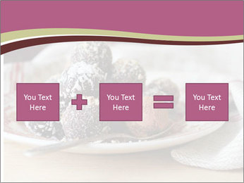 Plate With Truffles PowerPoint Template - Slide 95