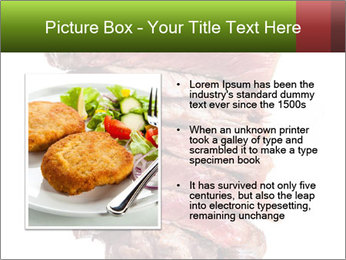 Sirloin Steak PowerPoint Templates - Slide 13