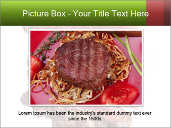 Sirloin Steak PowerPoint Template - Slide 15