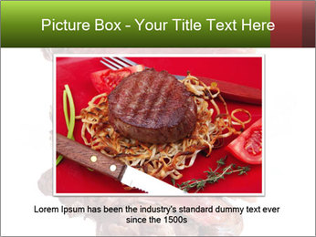 Sirloin Steak PowerPoint Templates - Slide 16