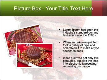 Sirloin Steak PowerPoint Templates - Slide 20