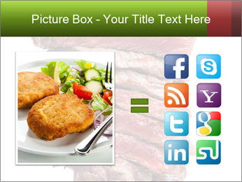 Sirloin Steak PowerPoint Template - Slide 21