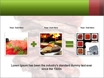 Sirloin Steak PowerPoint Template - Slide 22