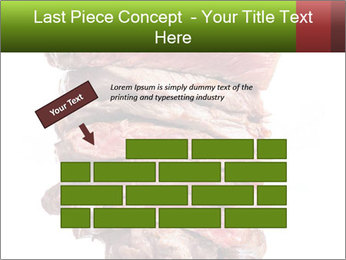 Sirloin Steak PowerPoint Template - Slide 46