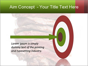 Sirloin Steak PowerPoint Template - Slide 83