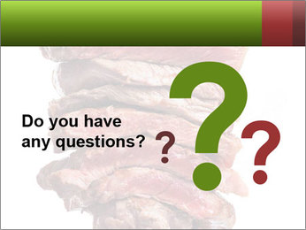 Sirloin Steak PowerPoint Template - Slide 96