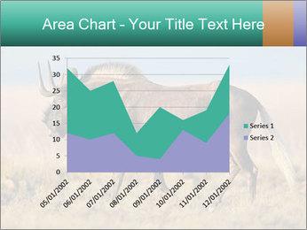 Male black wildebeest PowerPoint Template - Slide 53