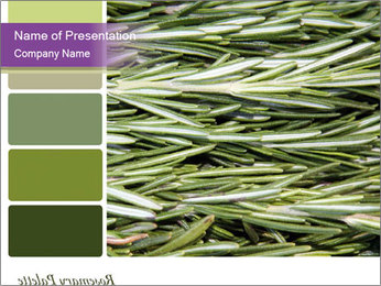 A background closeup PowerPoint Template