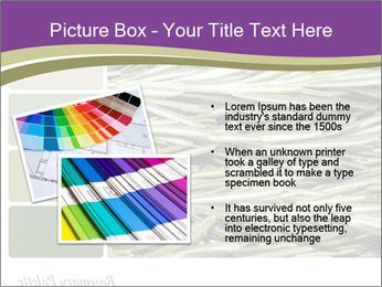 A background closeup PowerPoint Template - Slide 20