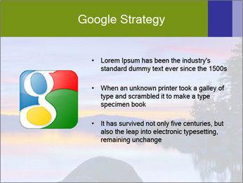 Lake Tahoe Sunset PowerPoint Templates - Slide 10
