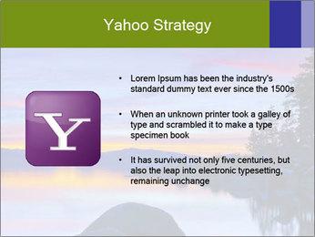 Lake Tahoe Sunset PowerPoint Template - Slide 11