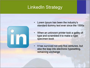 Lake Tahoe Sunset PowerPoint Template - Slide 12