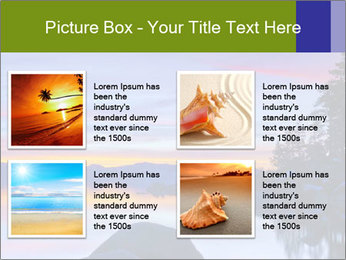 Lake Tahoe Sunset PowerPoint Templates - Slide 14