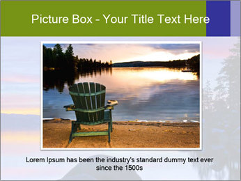 Lake Tahoe Sunset PowerPoint Template - Slide 15