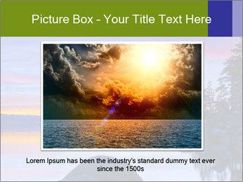 Lake Tahoe Sunset PowerPoint Templates - Slide 16