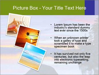 Lake Tahoe Sunset PowerPoint Template - Slide 17