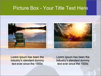 Lake Tahoe Sunset PowerPoint Template - Slide 18